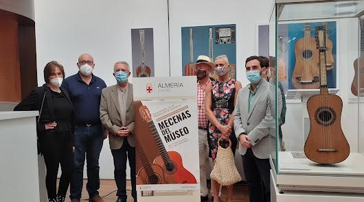 El Museo de la Guitarra recibe piezas donadas y cedidas en 'Mecenas del Museo'