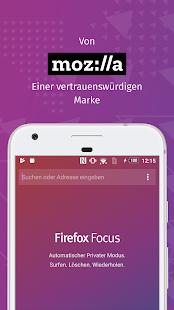 Firefox Focus: Der Browser mit Privatsphäre Screenshot