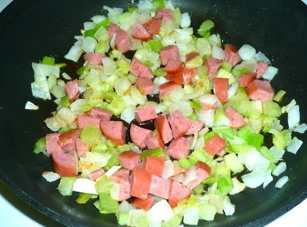 Add olive oil to a large non-stick skillet over med-high heat. Add celery, chopped...