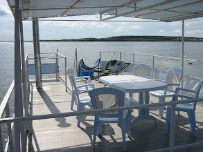 Photo: Банька на берегу. на палубе
