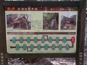 東海自然歩道の説明