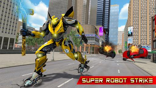 Grand Hammer Robot - Hammer Robot Fighting Game 5 screenshots 4