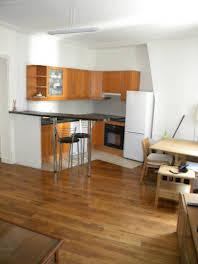 Appartement meublé 3 pièces 53,36 m2