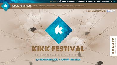 Photo: Site of the day 11 October 2012 http://www.awwwards.com/web-design-awards/kikk-festival