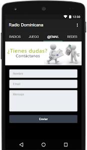 Radio Dominicana screenshot 2