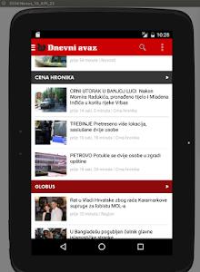 Dnevni avaz screenshot 8