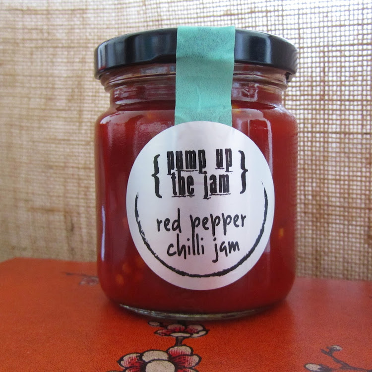 Red Pepper Chilli Jam by Pump Up The Jam