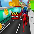 Ladybug and Cat Noir Subway Run City Adventure