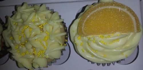 "Lemon Tequila Cupcakes ""This a recipe that I made up for Super..."