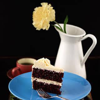 Red Velvet Cake with Ermine Frosting.