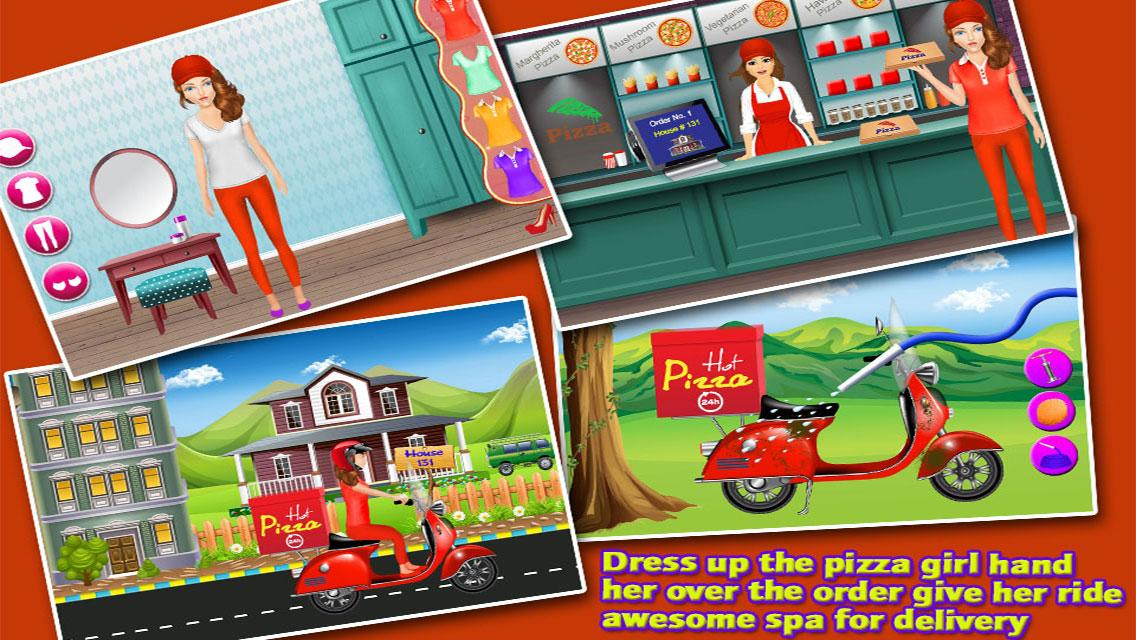City Girl Pizza Delivery- screenshot