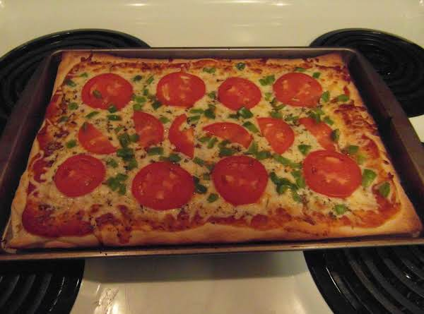 Quick Veggie Pizza