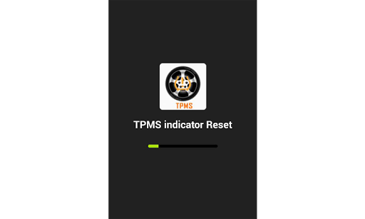 TPMS  indicator Reset screenshot