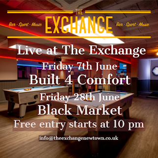 Live music at The Exchange