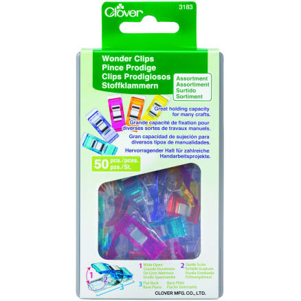 clover Wonder Clips 50 pack (16509