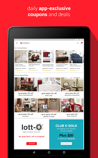 Screenshot 13 for Overstock.com's Android app'