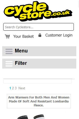 Cyclestore- screenshot