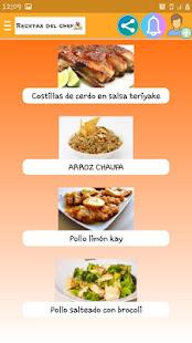 Recetas del chef for PC-Windows 7,8,10 and Mac apk screenshot 7