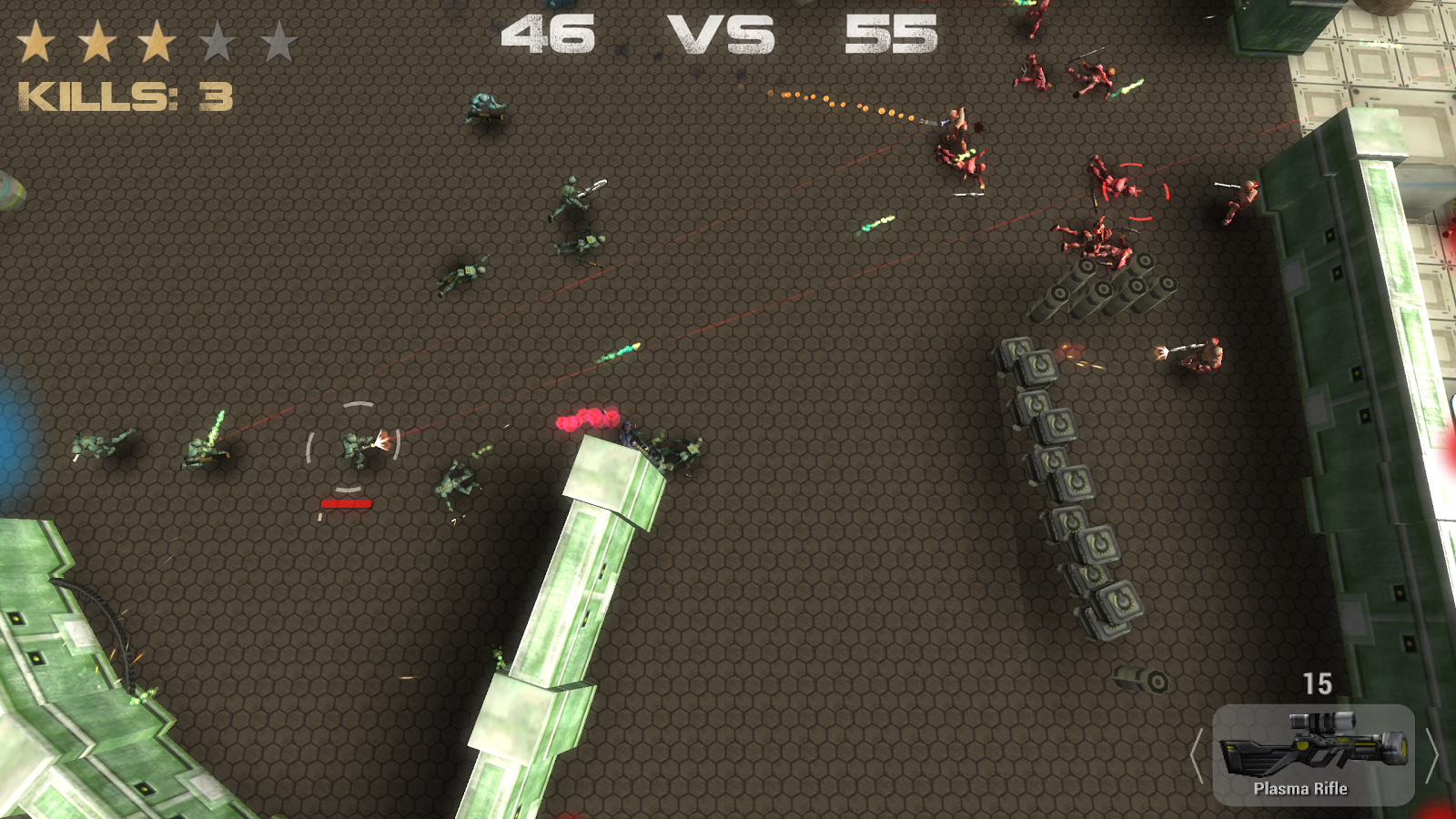 Emancy: Borderline War- screenshot