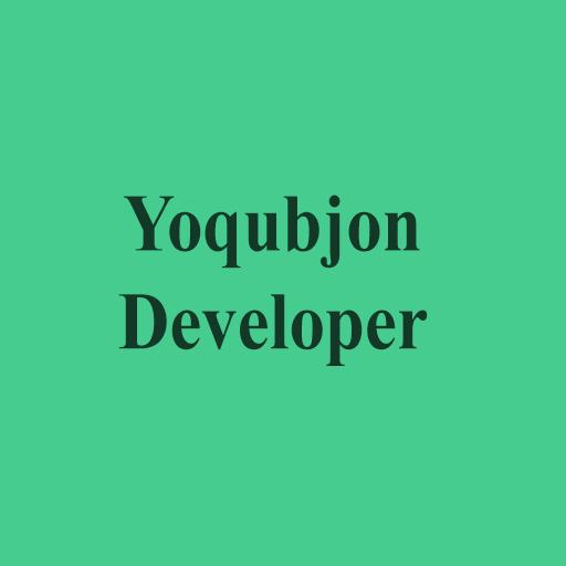 Yoqubjon avatar image