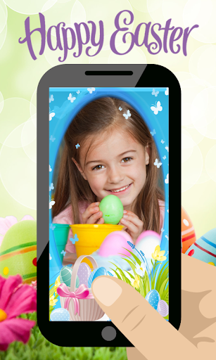 Happy Easter Photo Frames Edit
