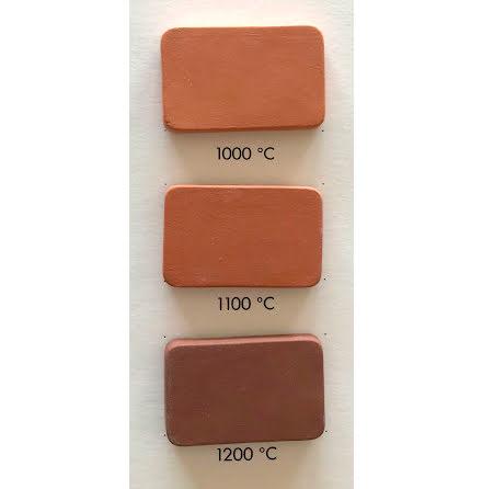 Stengodslera röd med chamotte - 980-1200°C