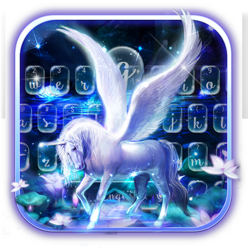 Graceful Alicorn Keyboard Theme
