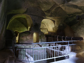 Photo: The underground town even had an olive press for making olive oil.