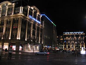 Photo: Dam Square at night