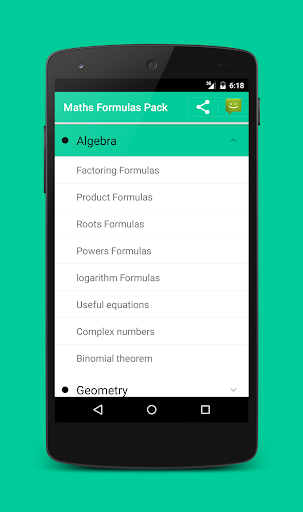 All Math formula - screenshot
