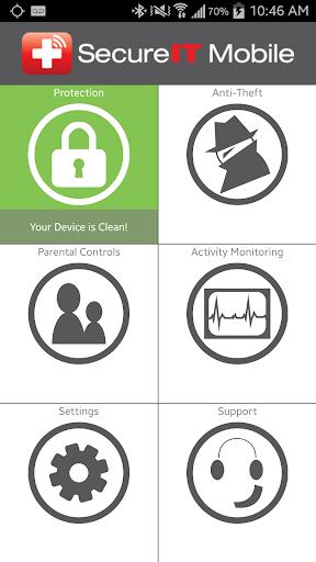 SecureIT Antivirus Security