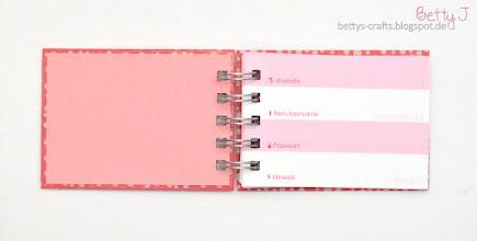 Photo: http://bettys-crafts.blogspot.com/2015/02/passwortbuch-logbook.html