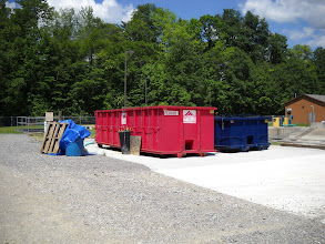 Photo: Dewatering Dumpsters
