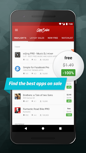 AppSales: Paid Apps Gone Free & On Sale v6.1 [Premium]