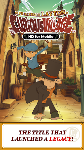 Layton: Curious Village in HD Screenshot Image