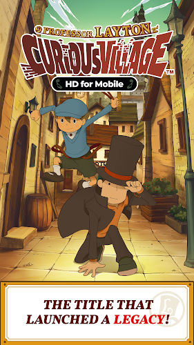 Layton: Curious Village in HD Android App Screenshot
