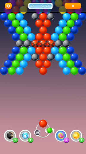 Bubble Rainbow Shooter - Shoot & Pop Puzzle apktreat screenshots 2