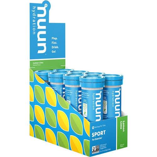 Nuun Active Hydration Lemon Lime, Box of 8 Tubes