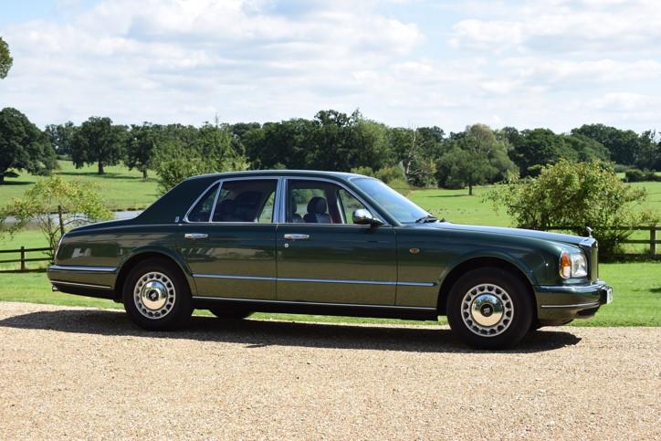 Rolls-Royce Silver Seraph Hire Reading