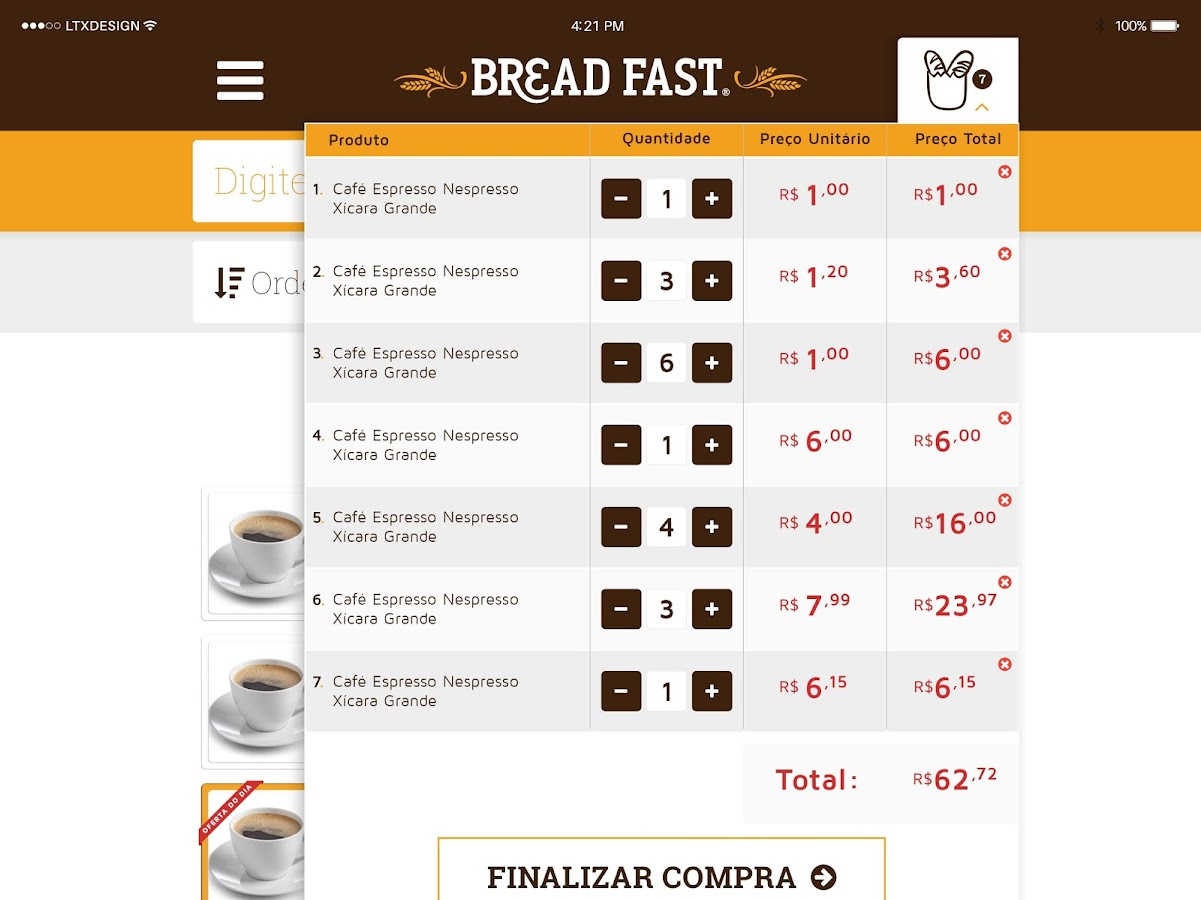 Padaria Bread Fast- screenshot