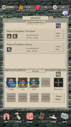 Heroes and Merchants RPG 2.0.0 screenshots 5