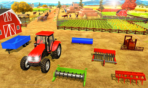 Offroad Pickup Cargo Tractor Trolley Transport android2mod screenshots 5