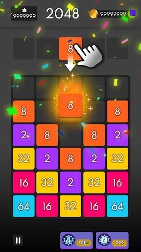 Drop & Merge - Number Puzzle 1.1.1 screenshots 1