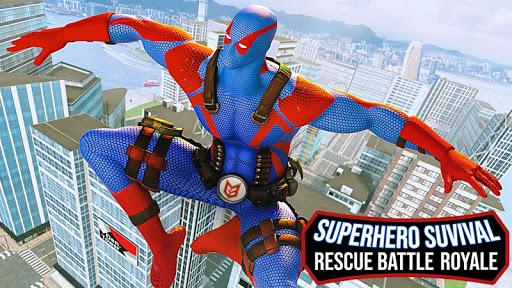 Superhero Survival Rescue : Battle Royale 1.2 screenshots 5
