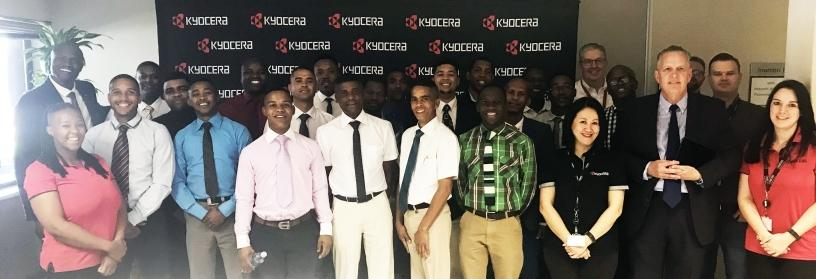 Potters House graduation ceremony 2018 at Kyocera Document Solutions SA.