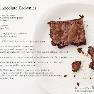 Deep Chocolate Brownies