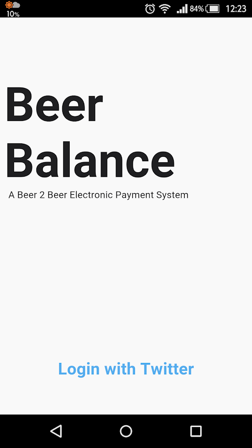 Beer Balance- screenshot