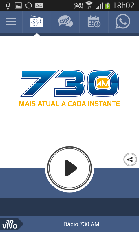Rádio 730 AM- screenshot