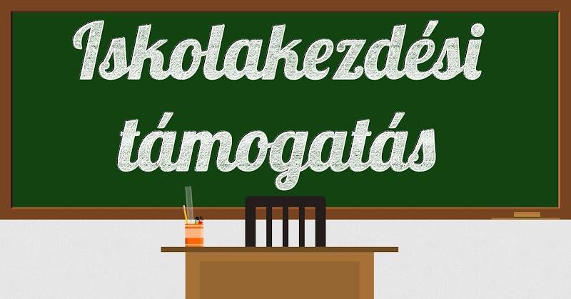 Iskolakezdési támogatás 2018