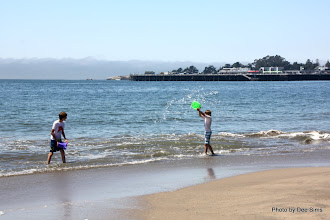 Photo: (Year 3) Day 22 -  The First of Many Water Fights